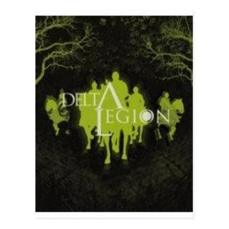 delta legion logo postcard