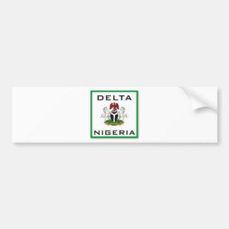 Delta, Nigeria Bumper Sticker