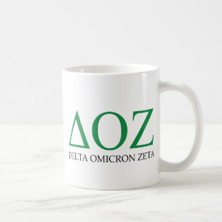Delta Omicron Zeta Logo Coffee Mug