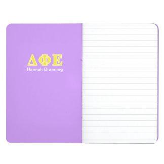 Delta Phi Epsilon Yellow Letters Journals