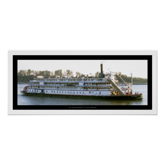 Delta Queen Riverboat Poster
