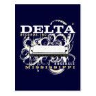 Delta Records Inc Postcard