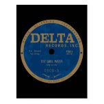 Delta Records label Postcards