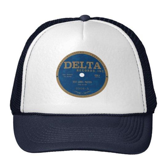 Delta Records label Trucker Hat