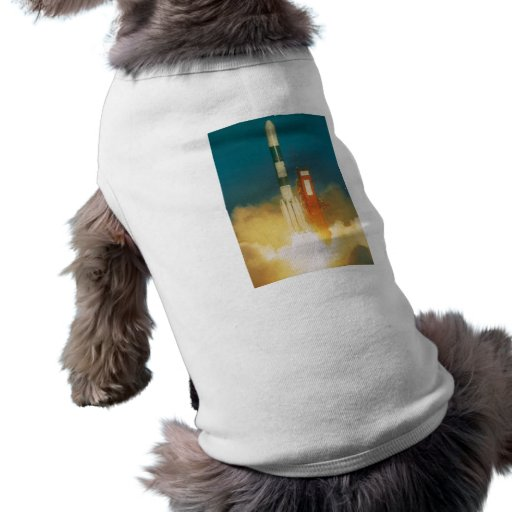 Delta Rocket Take-Off Pet T-shirt