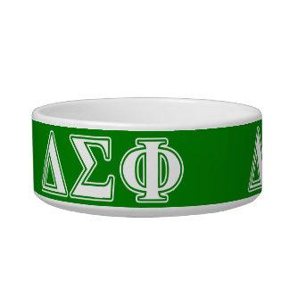 Delta Sigma Phi White Letters Bowl