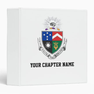 Delta Tau Delta Coat of Arms Binders