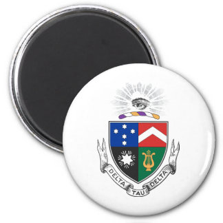 Delta Tau Delta Coat of Arms Magnet