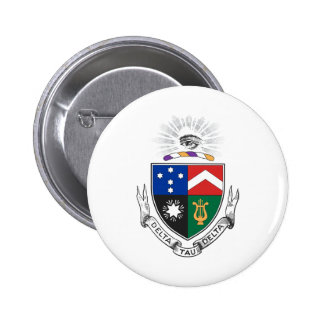 Delta Tau Delta Coat of Arms Pinback Buttons