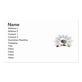 Delta Tau Delta Eye Double-Sided Standard Business Cards (Pack Of 100)