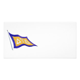 Delta Tau Delta Flag Card