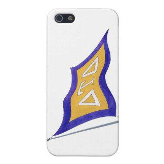 Delta Tau Delta Flag iPhone 5/5S Cases