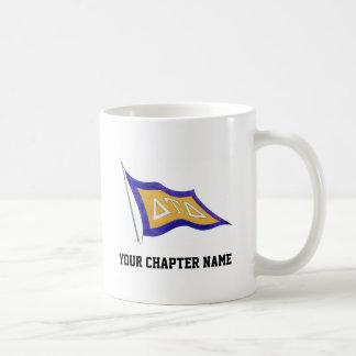 Delta Tau Delta Flag Classic White Coffee Mug