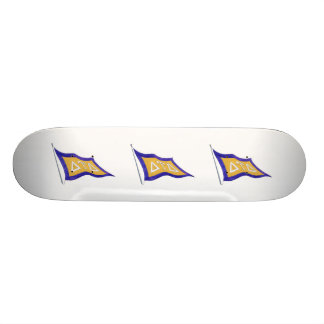 Delta Tau Delta Flag Skateboard Deck