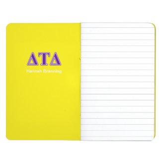 Delta Tau Delta Purple Letters Journals