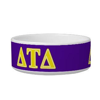 Delta Tau Delta Yellow Letters Bowl