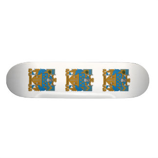Delta Upsilon Coat of Arms Skateboard Deck
