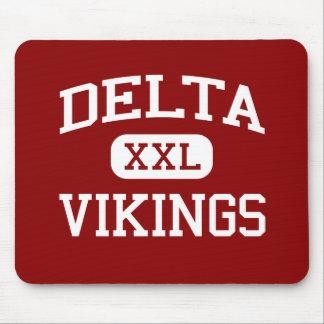 Delta - Vikingos - escuela secundaria del delta - Alfombrillas De Ratones