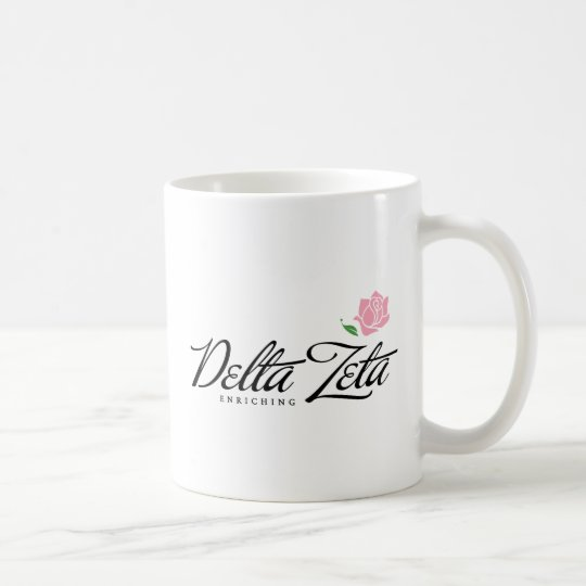 Delta Zeta - Enriching Coffee Mug