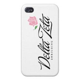 Delta Zeta - Enriching iPhone 4 Case