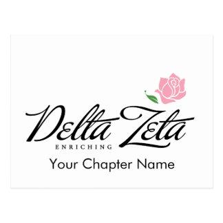Delta Zeta - Enriching Postcard
