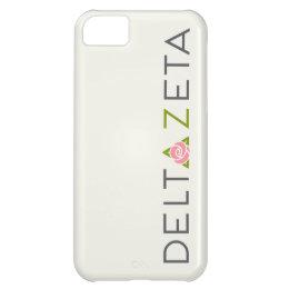 Delta Zeta Primary Logo Case For iPhone 5C