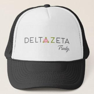 Delta Zeta Primary Logo with Promise Trucker Hat