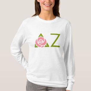 Delta Zeta Rose Icon T-Shirt