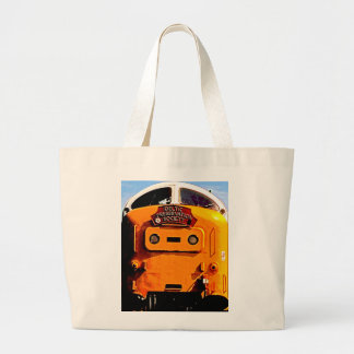 Deltic British Diesel Train (2) Large Tote Bag