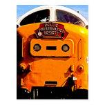 Deltic British Diesel Train (2) Post Card