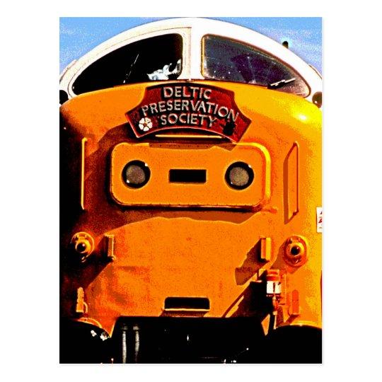 Deltic British Diesel Train (2) Postcard