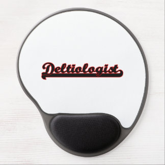 Deltiologist Classic Job Design Gel Mouse Pad