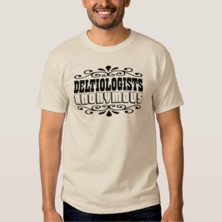 Deltiologists T-Shirt for Postcard Collectors