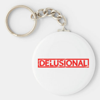 Delusional Stamp Keychain