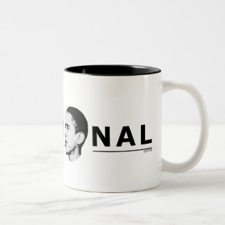 Delusional Two-Tone Coffee Mug