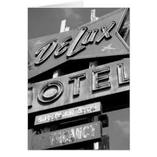 Delux Motel Card