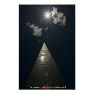 Deluxe Armenian Genocide Memorial Poster