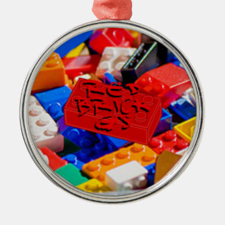 Deluxe Brick G's Metal Ornament