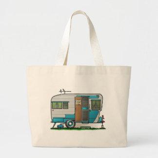 Deluxe Camper Trailer Tote Bags