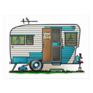Deluxe Camper Trailer Postcard