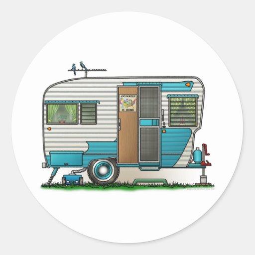 Deluxe Camper Trailer Sticker