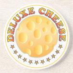 Deluxe Cheese Beverage Coaster