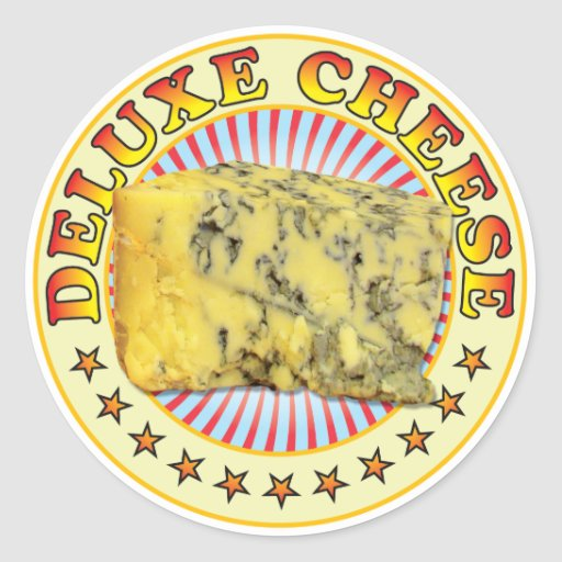 Deluxe Cheese v2 Stickers