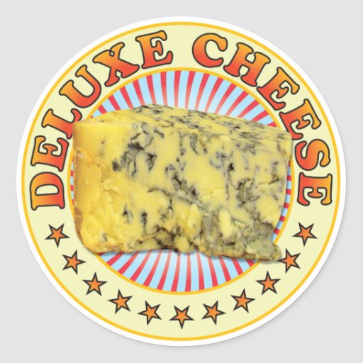 Deluxe Cheese v3 Stickers