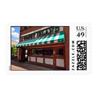 Deluxe Coney Island Stamp