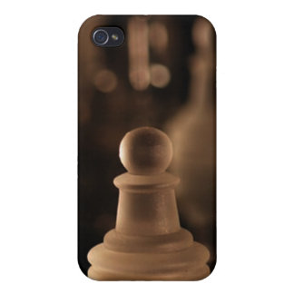 Deluxe Crystal Chess Pawn(assorted colors) iPhone 4 Cover