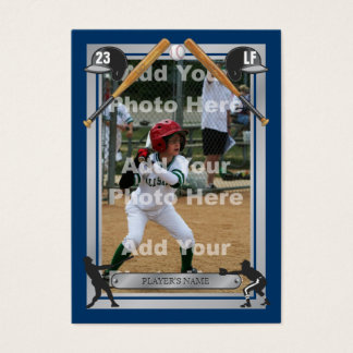 Deluxe Custom Baseball Card