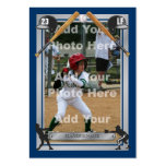 Deluxe Custom Baseball Card Large Business Cards (Pack Of 100)