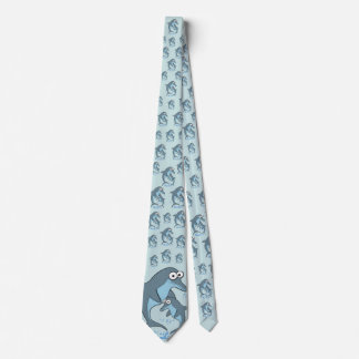Deluxe Dolphin Pattern Tie