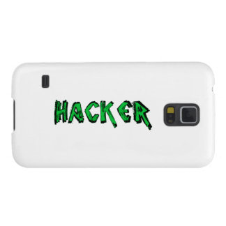 Deluxe Hacker rough font Galaxy S5 Case